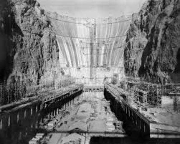 Hoover Dam Constructed