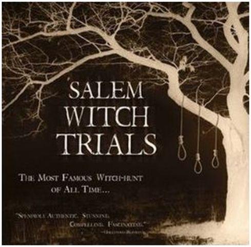 Salem Witch Trials in Salem, Massachusetts.