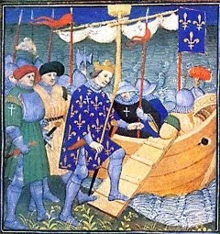 Inicia la octava cruzada y concluye con la muerte de San Luis
