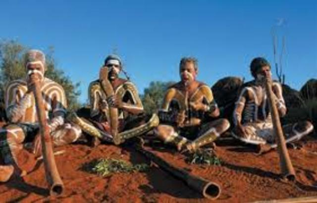 The Aborigines Have been on this land for over 40,000 years