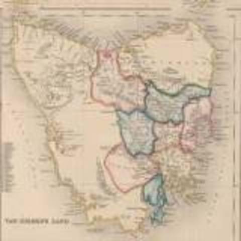 Dutchman Abel Tasman Dicoverd Van Diemans Land