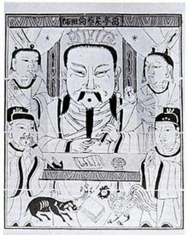 invencion del papel por Cai Lun en china d.c