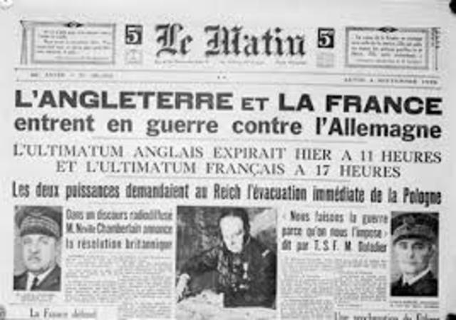 Begining of the II world war