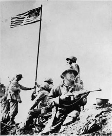 Allies victory in Iwo Jima