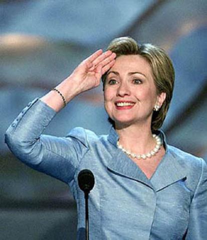 Hillary Clinton elected to Senate