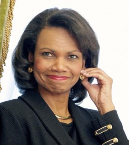 Condoleezza Rice becomes Secretary of State