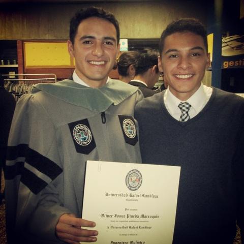 Graduación de mi hermano