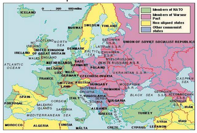 """Europe's """"Iron Curtain"""""""