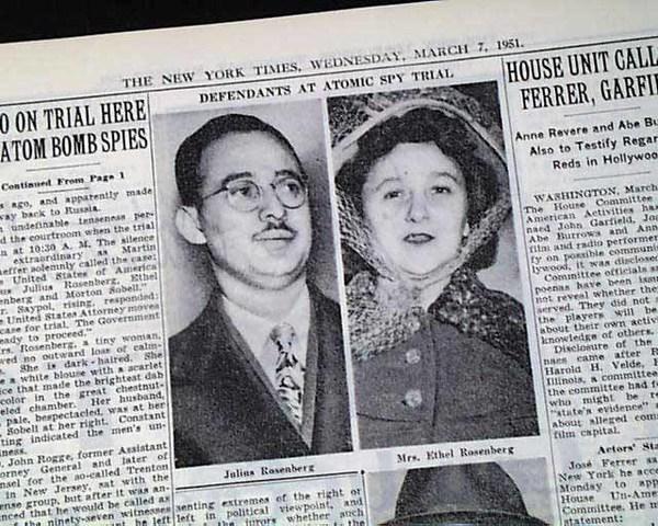 Julius and Ethel Rosenberg (1951)