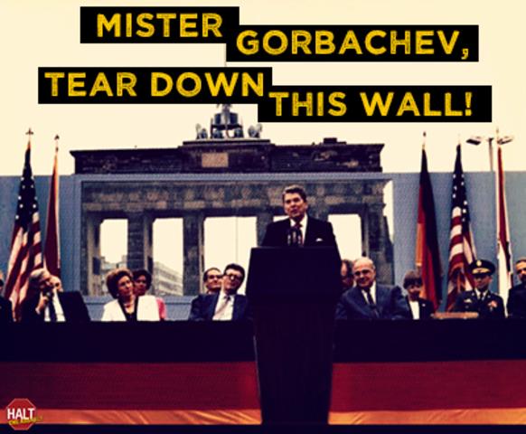 """""""Tear Down This Wall"""" speech"""