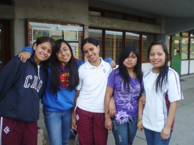 Ingreso al CAG (Colegio Americano de Guatemala)