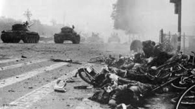 Tianamen Square Massacre