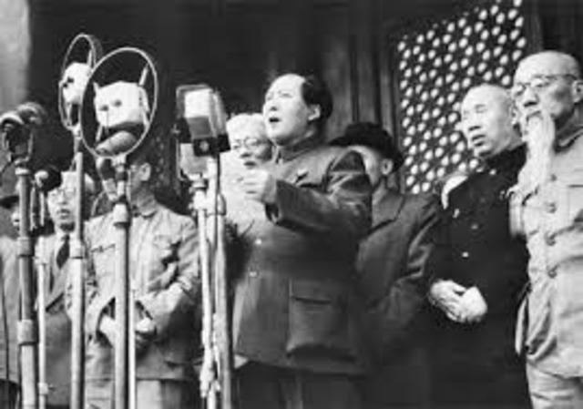Peoples REpublic of China Founded