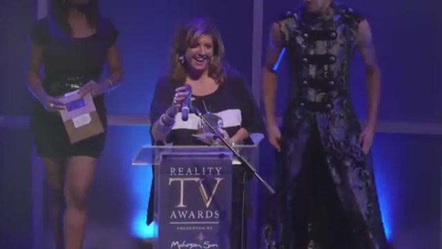 Abby Wins best Villan Reality TV Awards