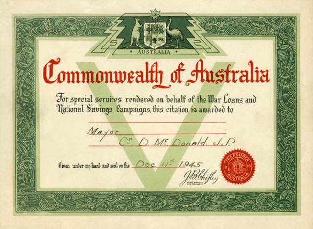 The Commonwealth of Australia, Federation