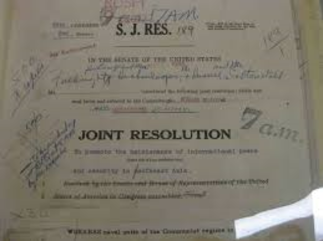Gulf Tonkin Resolution