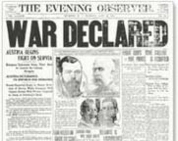 The Great War Starts!