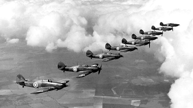 The Battle of Britain begins