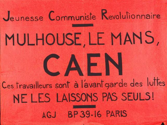 Atacs a manifestants en Caen