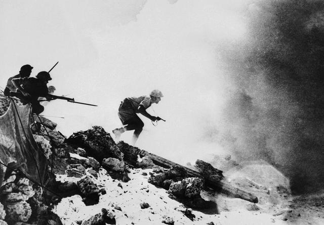 British defeat the Germans and Italians in Africa