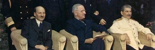 Truman and Stalin divide up Europe