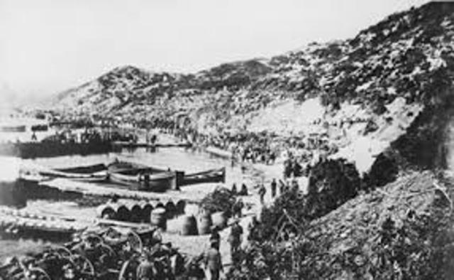 The Gallipoli Landing