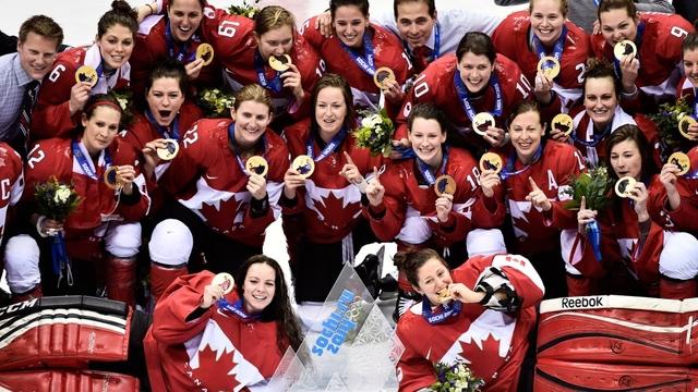 Women's Hockey Team Wins Third Olympic Gold