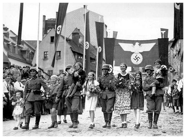 HItler Takes over Sudetenland