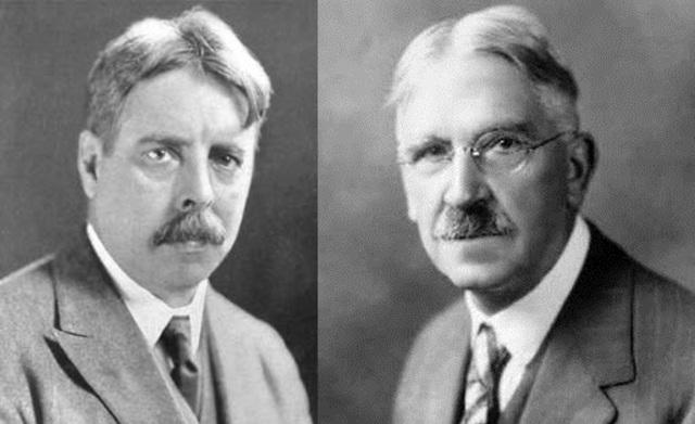 """Psicología educativa y sus dos concepciones básicas: """"ciencia aplicada (Thorndike)"""" y """"ciencia puente(J.Dewey)"""""""