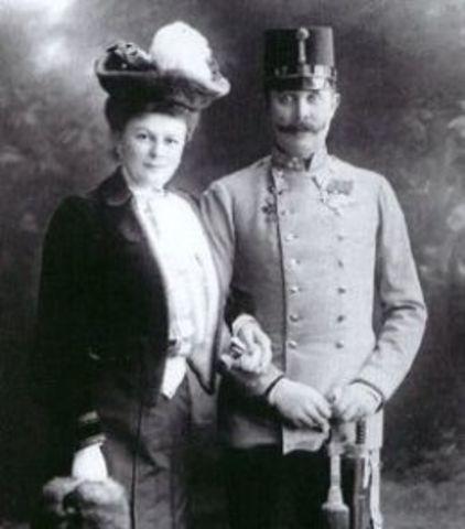 The Assasination of Arch of Arch Duke Franz Ferdinand
