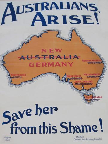 Australia prepares to join war.