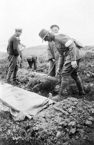 Truce came to Gallipoli to bury dead Anzacs