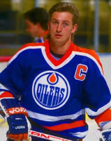 Wayne Gretzky played the last game