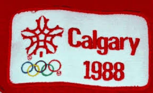 calgary Winter Olympics