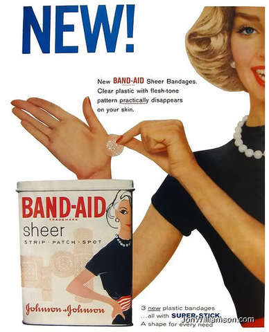 Advertisement of Band-Aids