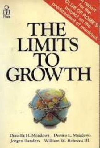 El Club de Roma publica: Los límites del crecimiento