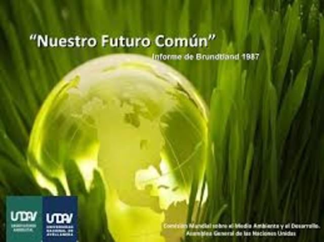 Informe Brundtland Nuestro Futuro Común