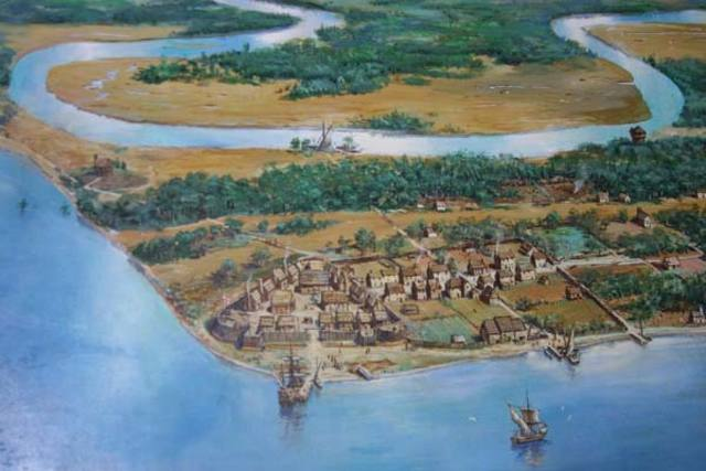 The Jamestown colony is established