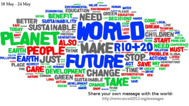 """Río +20 """"El futuro que queremos"""""""