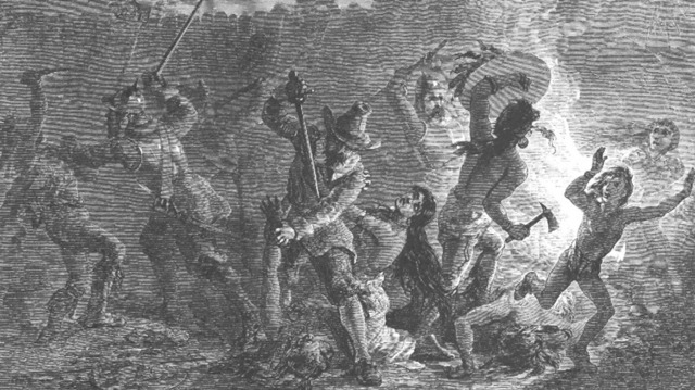 The Pequot War takes place