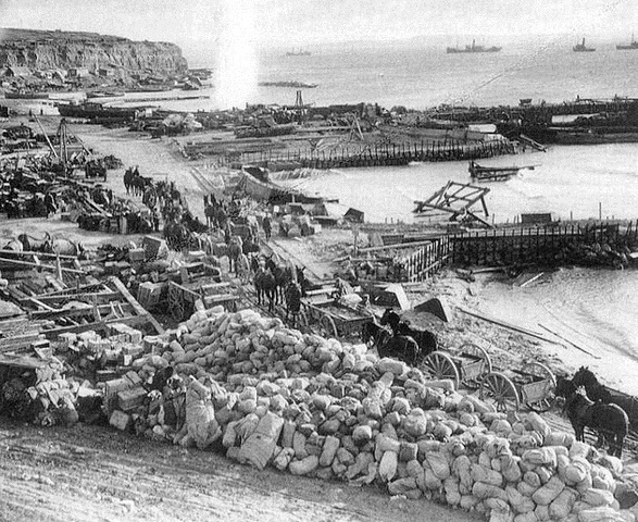 End of the Gallipoli Campaign