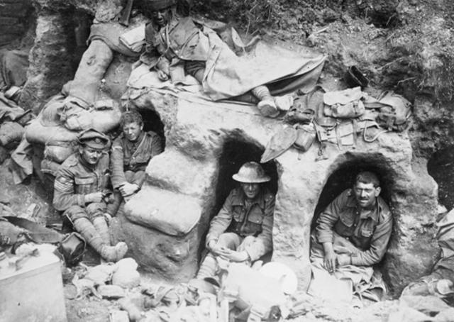 Condition at Gallipoli