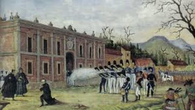 Morelos es fusilado
