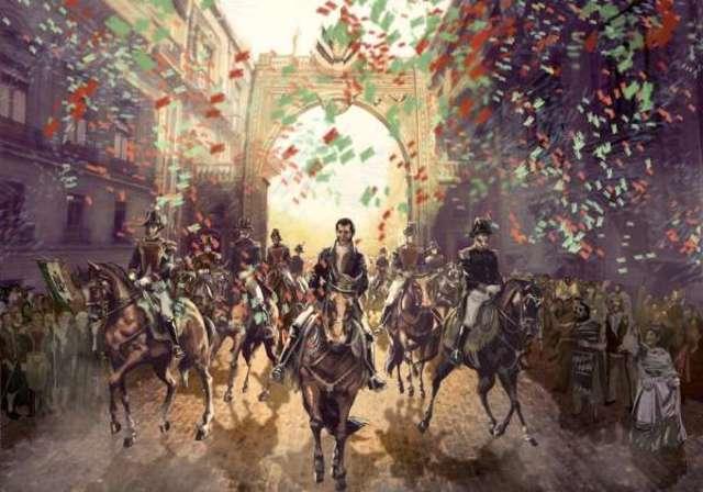 Se consuma la Independencia de México