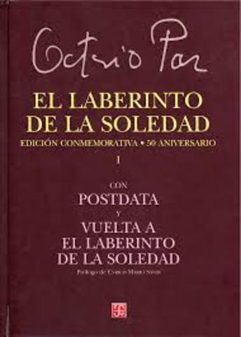 """Obra: """"El laberinto de la soledad"""""""