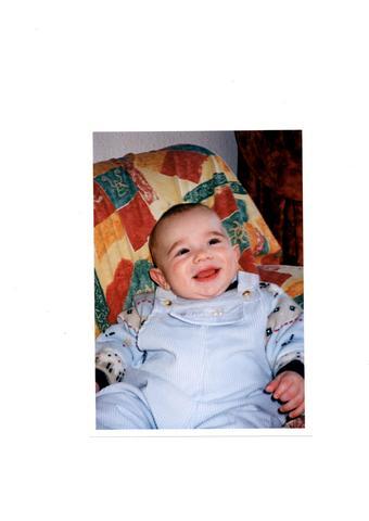 El meu primer somriure!