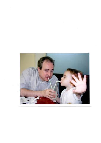 Bevent orxata amb el papa!