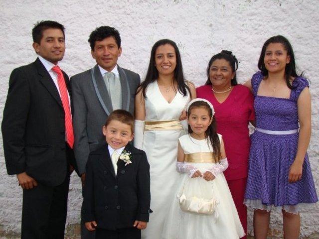 Matrimonio de mi hermana Dora