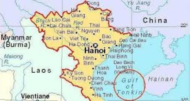 Targets North Vietnam