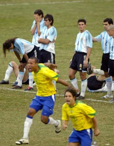 Argentina vs Brasil, Copa América 2004